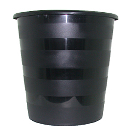 Офис кош– пластмасов, черен
