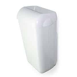 Пластмасов кош за отпадъци за стенен монтаж