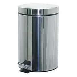 Кош за WC с педал – 3 л метален