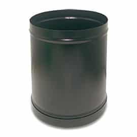 Офис кош– метален, черен