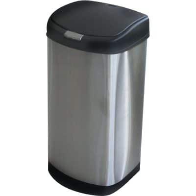 Характеристика: иноксови страни, с пластмасови основа и капак, с Push система за отваряне на капака. Размери: 70х36х34 см.