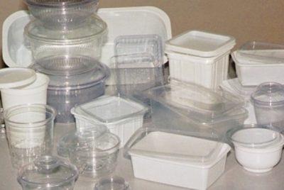 Пластмасови изделия за еднократна употреба