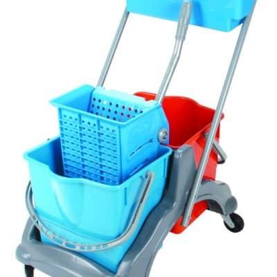Хигиенна количка, двойна 2х18 л