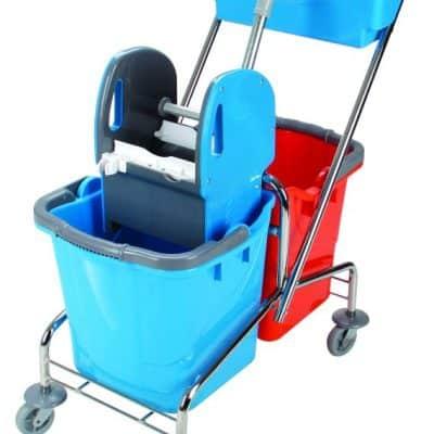 Хигиенна количка, двойна 2х25 л