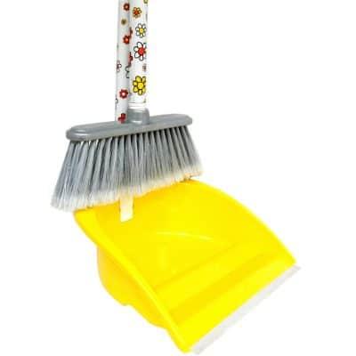 Метли и четки; дръжки; лопатки за смет