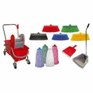 Уреди и пособия за почистване на повърхности