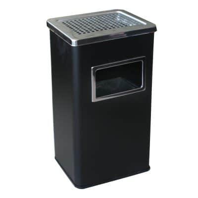 Характеристика: метален, черен. Размери: 30х24х61 см