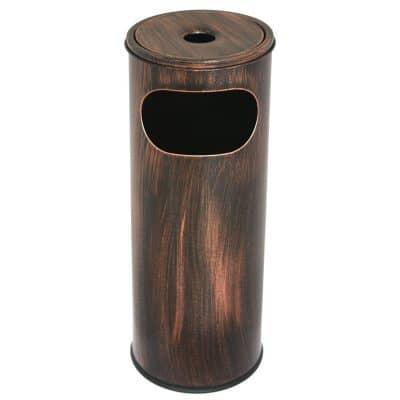 Характеристика: метален, кръгъл. Размери: диаметър 20,5 см; височина 58 см. Обем 12 л.