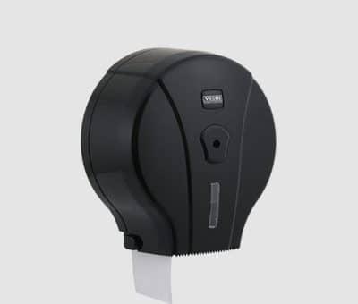 Дозатор за тоалетна хартия черен - гама Vialli