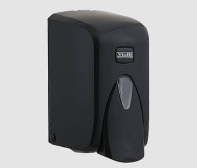 Дозатор за течен сапун 500мл черен гама Vialli